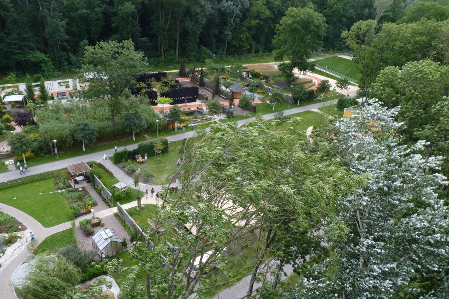 Fotky ze zahrad v Tullnu